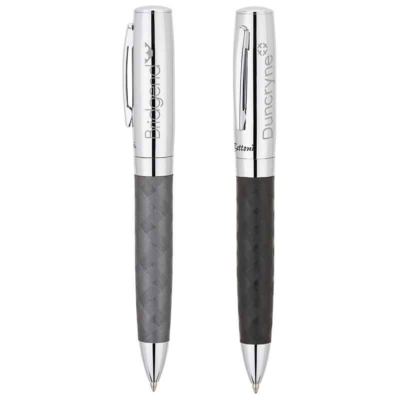 Bettoni Collection Ballpoint Pen w/Woven Barrel Design